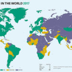 Freedom in the World Map 2017