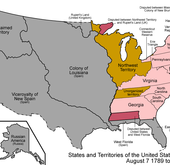The Northwest Ordinance And Westward Expansion Civics Renewal - Map-of-us-during-westward-expansion