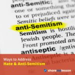 PWays to Address Hate & Anti-Semitism.