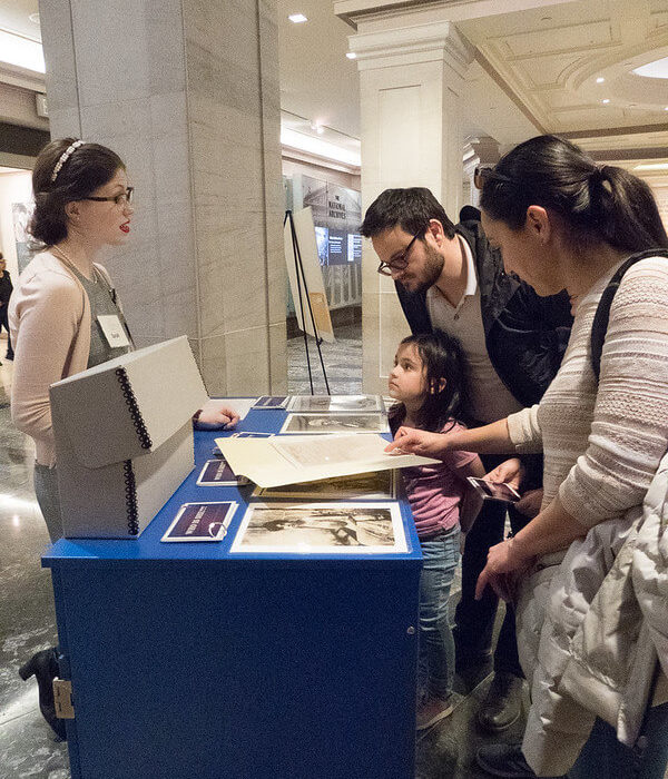 National Archives program
